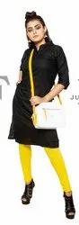 Cotton Churidar Ladies Leggings, Features: 95% Cotton 5% Spandex