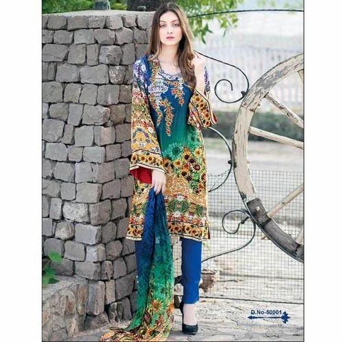 d17d3aac27 Cotton Dress Material, सूती पोशाक सामग्री at Rs 675 ...