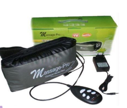 Massage Pro Slimming Belt with 5 Speed Vibration and Sauna Heat