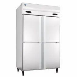 Stainless Steel Hoshizaki 4 Door Commercial Upright Refrigerator