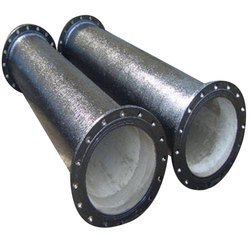 Round Ductile Iron Flanged Pipe