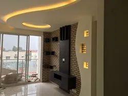 Wel Design Brown Wooden Designer TV Unit for Hotel
