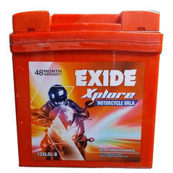 Motorcycle Exide Battery