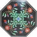 Octagonal Table Top Marble Decorative Table Top