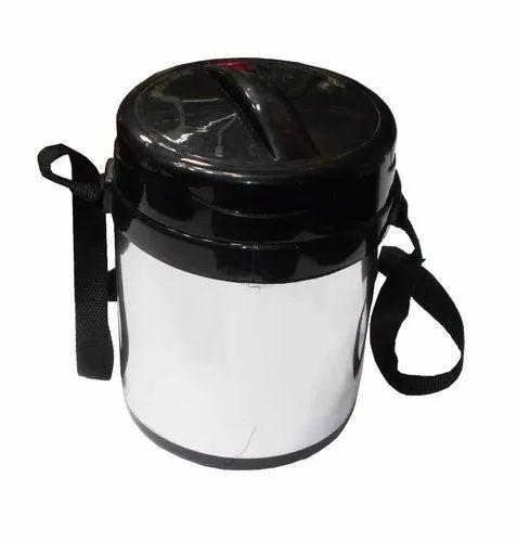 Stainless Steel 4 Containers Insulated Tiffin at Rs 180/piece | Stainless  Steel Insulated Lunch Box | ID: 20613972448