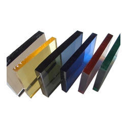 Available in many colors Tinted Glass
