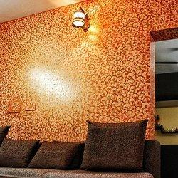 interior design texture painting in sector 48, gurgaon, krishnainterior design texture painting