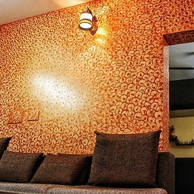 Interior Design Texture Painting in Sector 48 Gurgaon Krishna