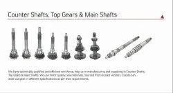 Counter and Main Shafts