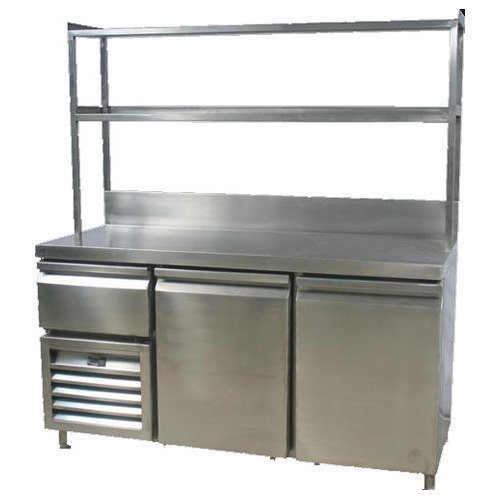 Kitchen Furniture Pakistan: Stainless Steel Food Counter For