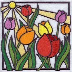 Multicolor 2*2 Feet Coloured Glass