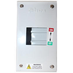 Mild Steel (MS) 6 Way Electric Circuit Breaker MCB Box, For Industrial, Dimension: 2W-12WAY