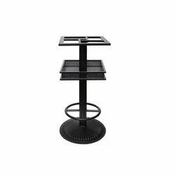 Black Powder Coated CITB-108 Cast Iron Table Base