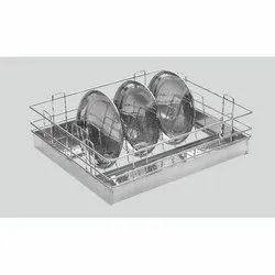 Aluminium Plate Basket
