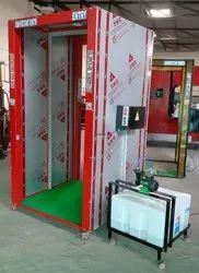 Sanitizing Booth Model 844