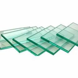 Transparent Toughened Glass, Shape: Flat, Thickness: 12-14mm