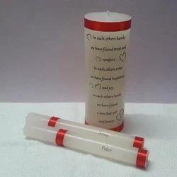 印刷石蜡统一蜡烛