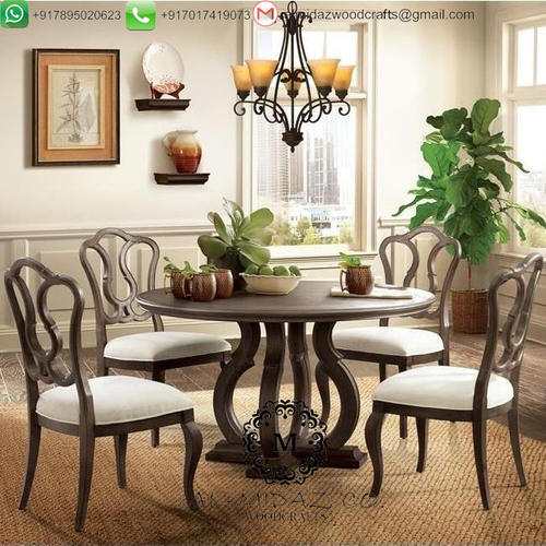 Dining Table 4 Chairs Dt Seven