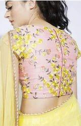 Thread Handwork Saree