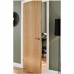 Brown Waterproof Oak Veneered Door