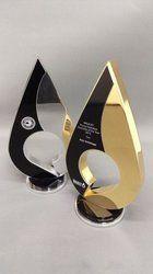 Oval Shape Brass Trophy