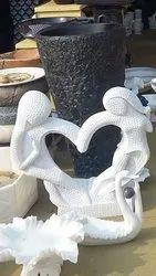 Handmade Marble Love Sculpture
