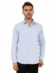 Sky Blue Full Sleeve Casual Shirt
