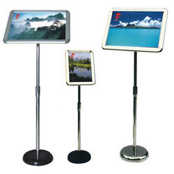 Aluminium Easel Display Standee