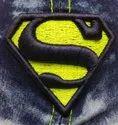 Superman Baseball Denim Jeans Wash Cap