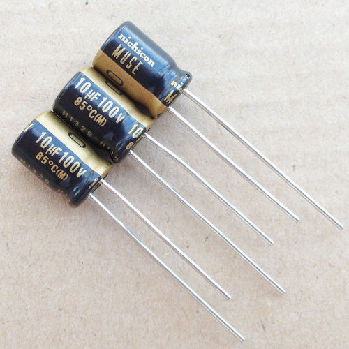 100V Nichicon Electrolytic Capacitor