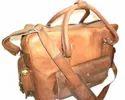 Retro Look Leather Travel Bag