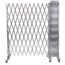 Stylish SS Collapsible Gate