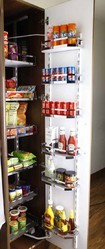 PFS-106 Flat Wire and Wood Pantry