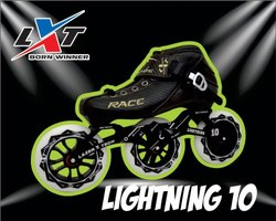 3 x 100 Lightning 10 Inline Skate Package