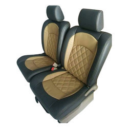 Plain PU Leather Car Seat Cover