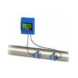 Clamp On Type Ultrasonic Flow Meter