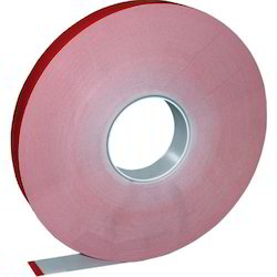 Red Double Sided Clear Tape