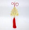 Golden Adoraa Tirupathi Balaji Lord Venketeshwara Car Hanging
