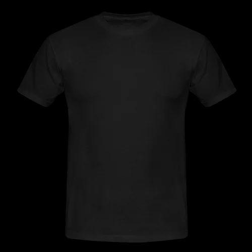 Men Plain T-Shirts - Round Neck White T-Shirt Manufacturer from ...