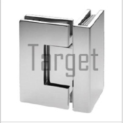 Square Shape -90 Glass to Glass Shower Hinge