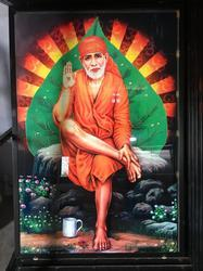 Saibaba Wall Picture Tiles