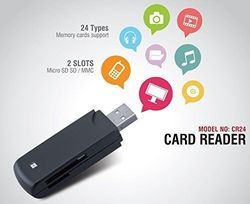 iBall CR24 Card Reader With 24 Type of Memory Card Support