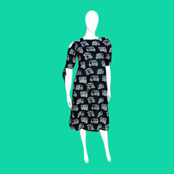 Ladies Cotton Cambric Dress