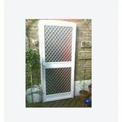 Powder Coated Aluminum Wire Mesh Door
