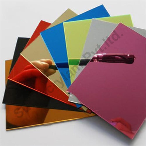 Acrylic Mirror Sheets Thickness 0 8 6 Mm Rs 50 Sheet