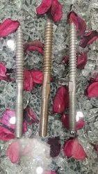 Carbon Steel Rack Screw Bolt, Grade: 4.6,  Mild Steel Bolts Length: 5.5 Inch