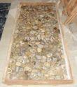 Yellow Agate Gemstone Slab