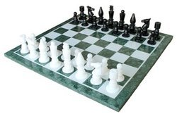 Brand New Christmas Gifts Marble Chess Board