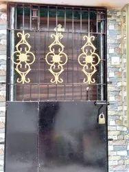 Iron Safety Main Door