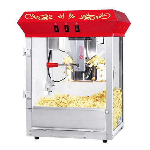 Gas Popcorn Machine For Commercial